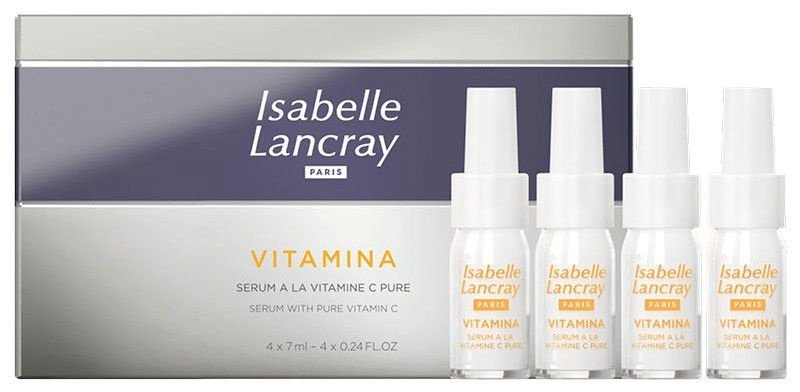 Isabelle Lancray Vitamin Serum With Pure Vitamin C 4x7ml