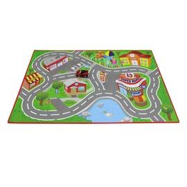 Spēļu paklājs BB Junior Ferrari, 1000 cm x 700 cm