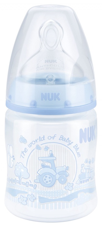 Nuk First Choice+ Blue 150ml Bottle 10743501