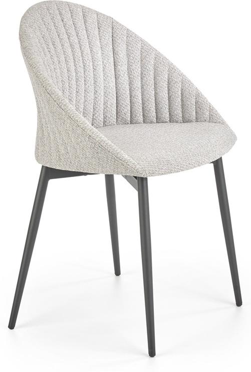 Atzveltnes krēsls Halmar K357, pelēka, 53x50x80 cm