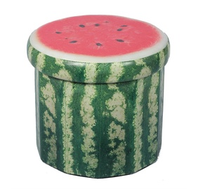 Pufs XYF15427BE Watermelon, 38 x 38 x 33.5 cm