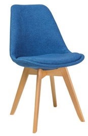 Ēdamistabas krēsls Signal Meble Dior Buk Blue