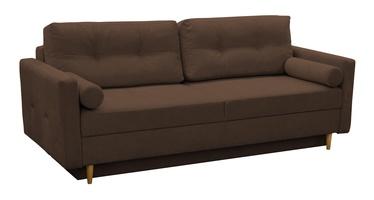 Dīvāngulta Idzczak Meble Pastella Brown, 216 x 100 x 74 cm