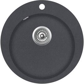 Aquasanita SR100-222W Sink Graphite 505x505mm