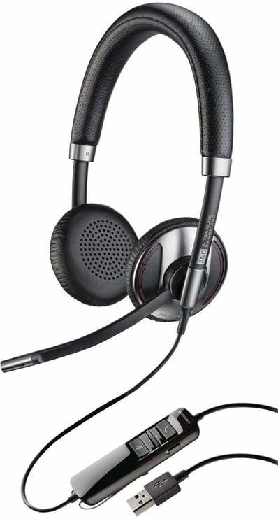 Austiņas Plantronics Blackwire C725-UC Black