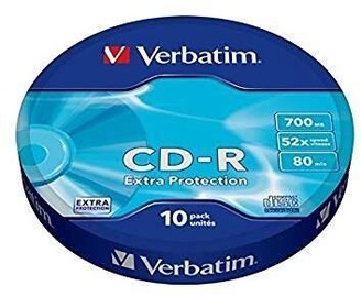 Verbatim CD-R 700MB 10pcs Cakebox