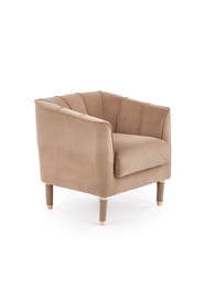 Atzveltnes krēsls Halmar Baltimore Dark Beige, 72x67x71 cm
