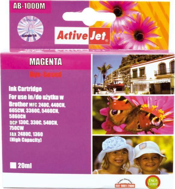 ActiveJet Cartridge 30ml Magenta