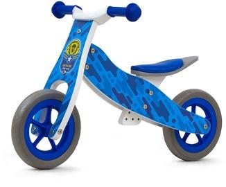 Līdzsvara velosipēds Milly Mally Look Ride On 2in1 Blue