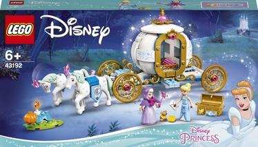 Конструктор LEGO Disney Princess Королевская карета Золушки 43192, 237 шт.