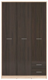 Black Red White Nepo Plus Wardrobe Sonoma Oak/Wenge