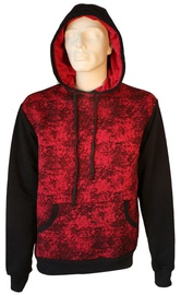 Bars Mens Hoodie Black/Red M