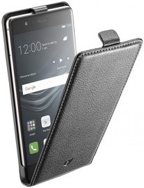Cellular Line Flap Essential Book Case For Huawei P9 Black