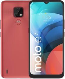Mobilais telefons Motorola Moto E7, sarkana, 2GB/32GB
