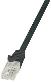 LogiLink CAT 5e UTP Cable Black 0.5m
