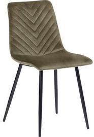 Ēdamistabas krēsls Home4you Brie 10367, olīvzaļa
