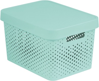 Ящик Curver Perforated Infinity Box With A Lid 17L White Blue