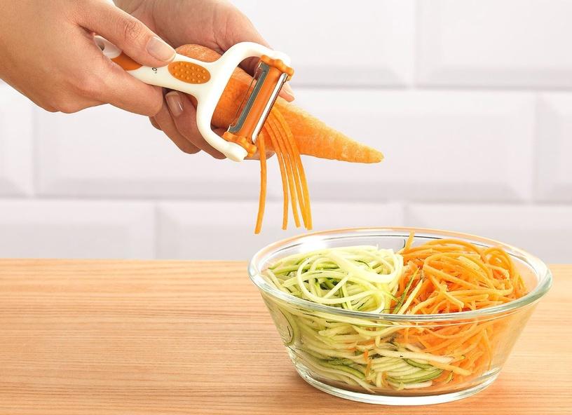 Нож для чистки Delimano Brava 3in1 Click'n'Peel