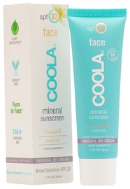 Coola Face Mineral Sunscreen Matte Tint SPF30 50ml