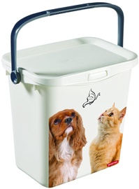 Миска для корма Curver Container With Handle And Lid Multiboxx 6L 26x20x24cm Cat&Dog