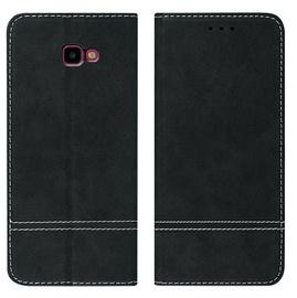 Mocco Suede Book Case For Samsung Galaxy A7 A750 Black