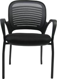 Apmeklētāju krēsls Home4you Torino Black/Gray 27706