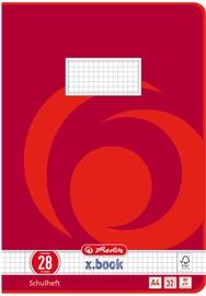 Burtnīca Herlitz Exercise Book A4 32 Sheets Red