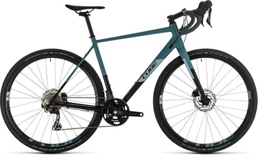 "Cube Nuroad Race 58 28"" Black Greyblue 20"