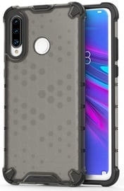 Hurtel Honeycomb Armor Back Case For Huawei P30 Lite Black
