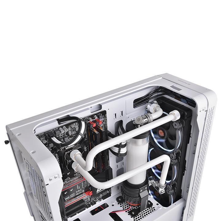 Thermaltake Pacific C-PRO G1/4 PETG Tube 16mm OD Compression White