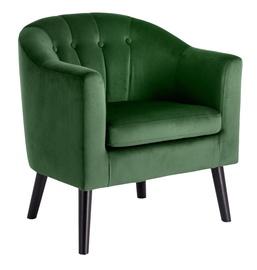 Halmar Marshal Leisure Chair Dark Green