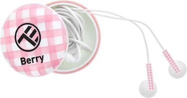 Наушники Tellur Berry in-ear, розовый