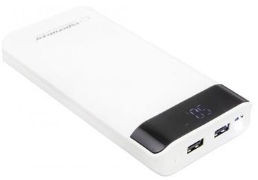 Uzlādēšanas ierīce – akumulators (Power bank) Esperanza Photon, 17400 mAh, balta