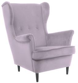 Atzveltnes krēsls Signal Meble Lord Velvet Pink, 72x85x101 cm