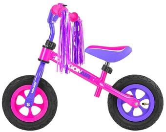 Velosipēds Milly Mally Dragon Air Balance Bike Pink Purple 1634