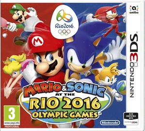 Mario And Sonic At The Rio 2016 Olympic Games 3DS