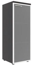 Skyland Xten Office Cabinet XMC 42.7 Right Legno Dark