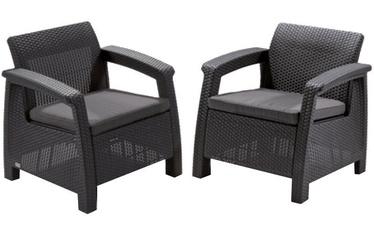 Садовый стул Keter Corfu Duo Grey