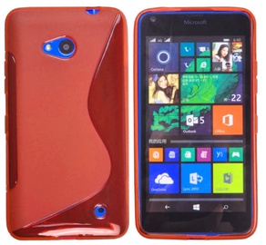 Telone Back Case S-Case Microsoft 640XL Lumia Silicone Coral