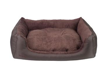 Dzīvnieku gulta Amiplay Aspen, brūna, 900x1140 mm