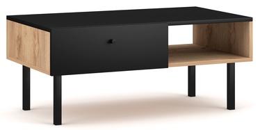 Kafijas galdiņš Vivaldi Meble Tulia Artisan Oak/Black, 900x516x380 mm