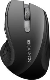 Canyon Wireless Mouse w/Blue LED Sensor Black CNS-CMSW01B