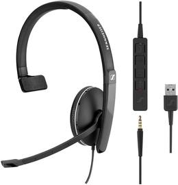 Наушники Sennheiser SC 135 USB, черный