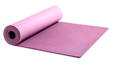 Fitnesa un jogas paklājs Yunmai YMYG-T603, rozā, 183 cm x 61 cm