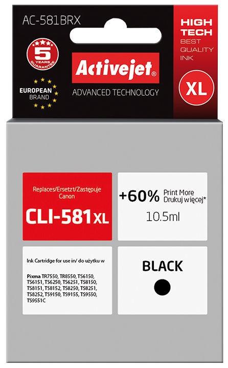 ActiveJet Cartridge AC-581BRX Black