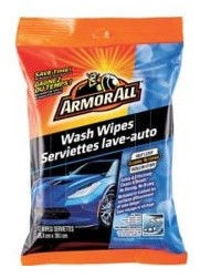 ArmorAll Express Wash & Wax Wipes 12pcs