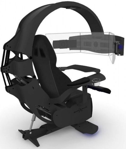 Игровое кресло MWE LAB Emperor XT Black