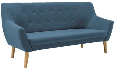 Dīvāns Signal Meble Nordic 3 Cablo 09 Blue, 180 x 75 x 90 cm