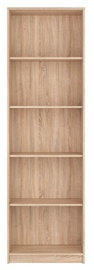 Black Red White Nepo Plus Bookshelf REG/60 Sonoma Oak