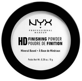 Pūderis NYX HD Translucent, 8 g